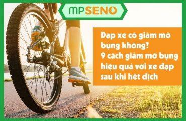 Đạp xe có giảm mỡ bụng không? 9 bước giảm mỡ bụng hiệu quả với xe đạp sau khi hết dịch