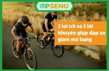 3 lợi ích và 5 lời khuyên giúp đạp xe giảm mỡ bụng